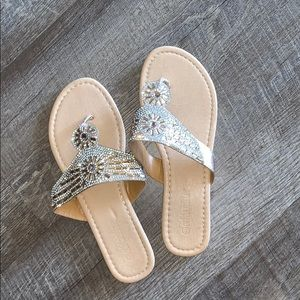 Sequined Dressy Sandals